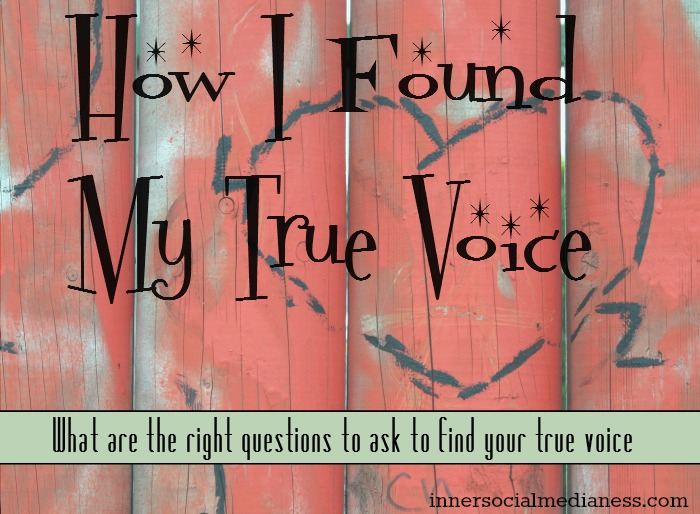 How I found my true voice - it's more than just someone telling you to be