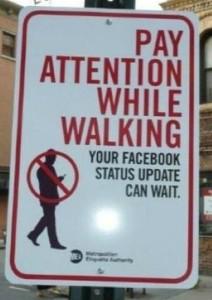 FB status update