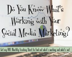 Do You Know What's Working with Your Social Media Marketing?