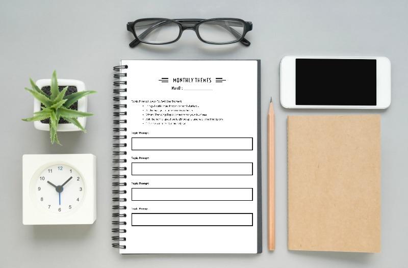 social media productivity planner