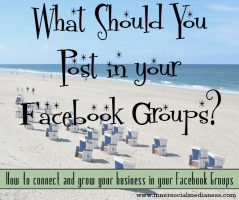 What Should You Post in Your Facebook Groups?