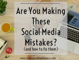 Are You Making These Social Media Mistakes? (and how to fix them)