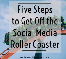 Five Steps to Get Off the Social Media Roller Coaster