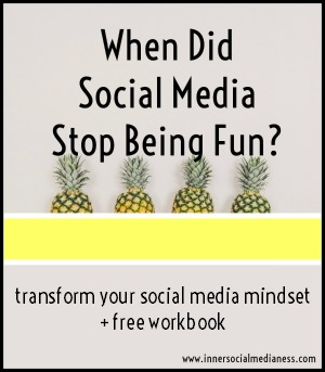 transform your social media mindset + free workbook