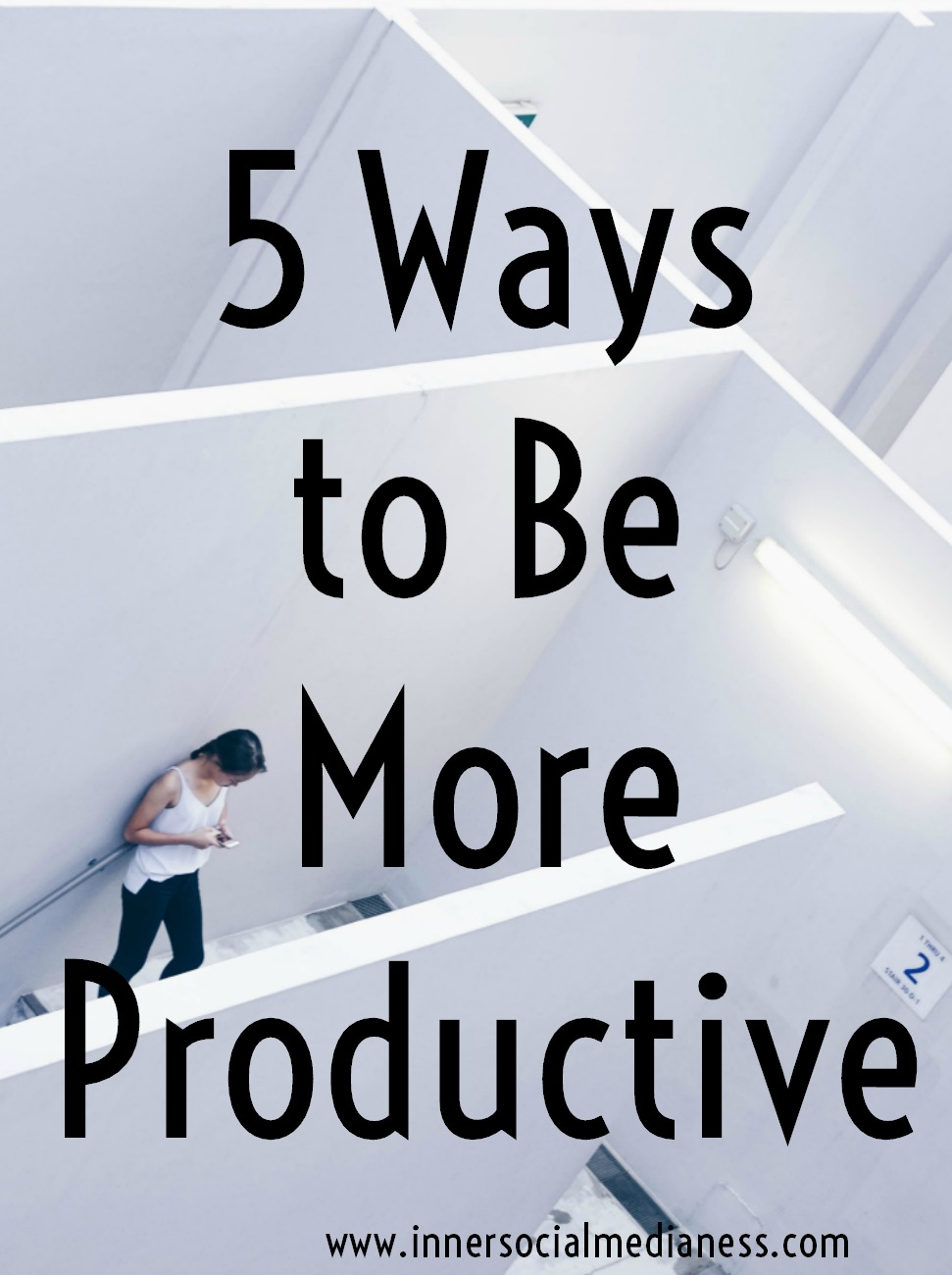 5 Ways to Be More Productive - being more productive means taking a 'productive break' to help you get more done. Not sure how to take a productive break in your day? Here's some ideas to get you started.