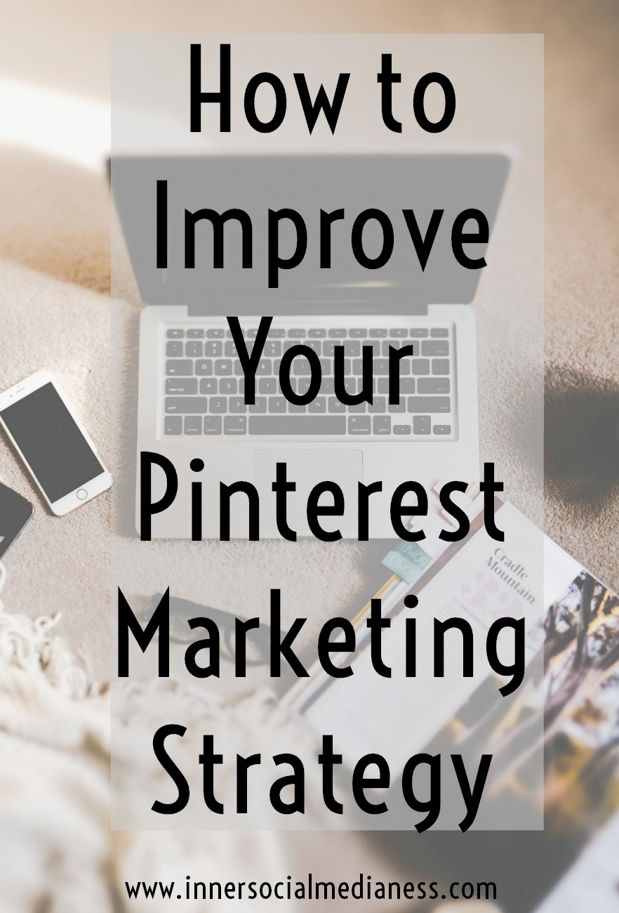 How to Improve Your Pinterest Marketing Strategy - If you're looking to grow your business or blog on Pinterest, try using these tips with your pin descriptions to reach more people looking for what you sell and blog about on your site.