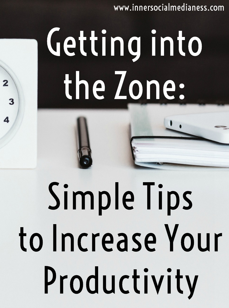 Getting into the Zone: Simple Tips to Increase Your Productivity - How can you be more productive at work? How do you get into the flow and get more done? Learn the steps to get into what they call getting into the zone where  it's not too hard, it's not too easy. It's just right.
