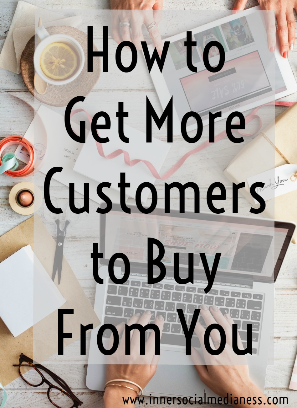 How to Get More Customers to Buy From You - Most of us know that we need to be active on social media to grow our marketing efforts. But it's more than just a Facebook post - It's now about being live in that moment with your audience, answering their questions, having conversations and giving them a chance to get to know you more. Take a look at these tips to learn how to be more visible and truly connecting to your customers.