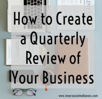 How to Create a Quarterly Review of Your Business