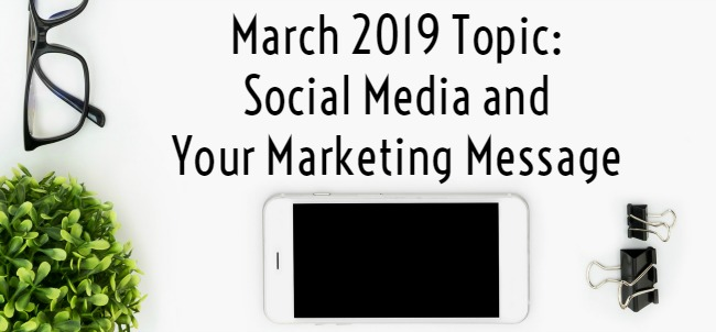 social media and your marketing message