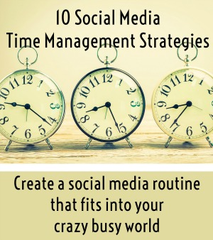 10 social media strategy workbook