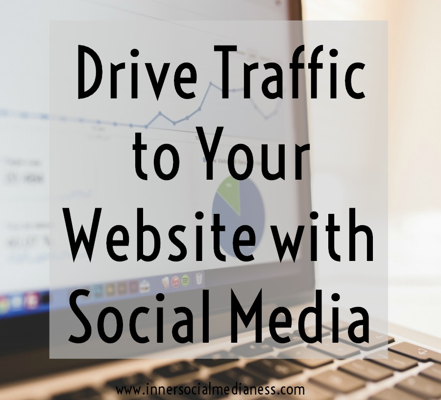 Drive Traffic to Your Website with Social Media - Have you ever wondered why you're not seeing any website traffic from all those posts you're scheduling on social media? Get the steps to go from wondering to what happened into KNOWING what happened with your website traffic.