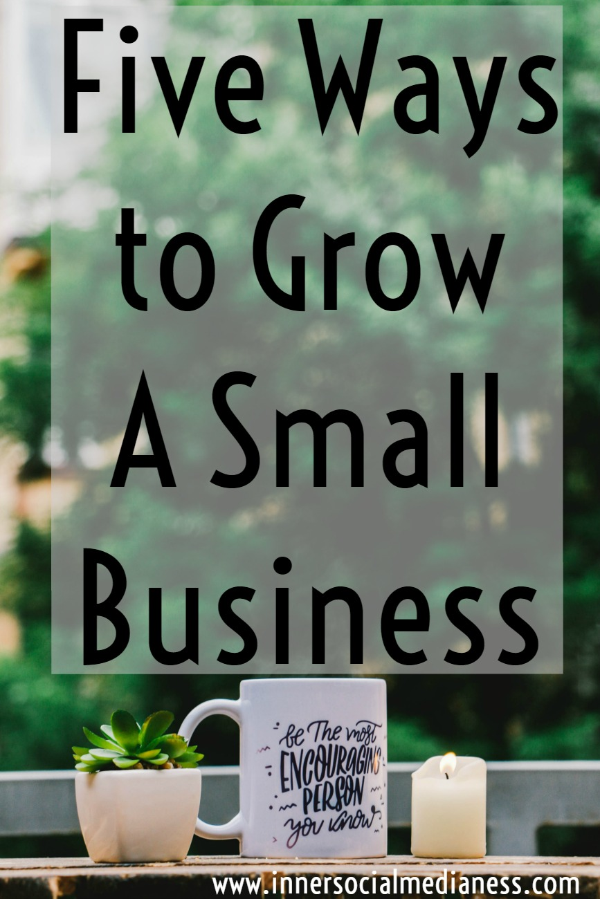 Five Ways to Grow A Small Business - what do you do when your business is growing at a rate faster than you can keep up with it? Giving up sleep and spending money you just don't have to pay for some help aren't always the only answers. Take a look at these business strategies and see if they can help you with that awkward growth stage of your business.