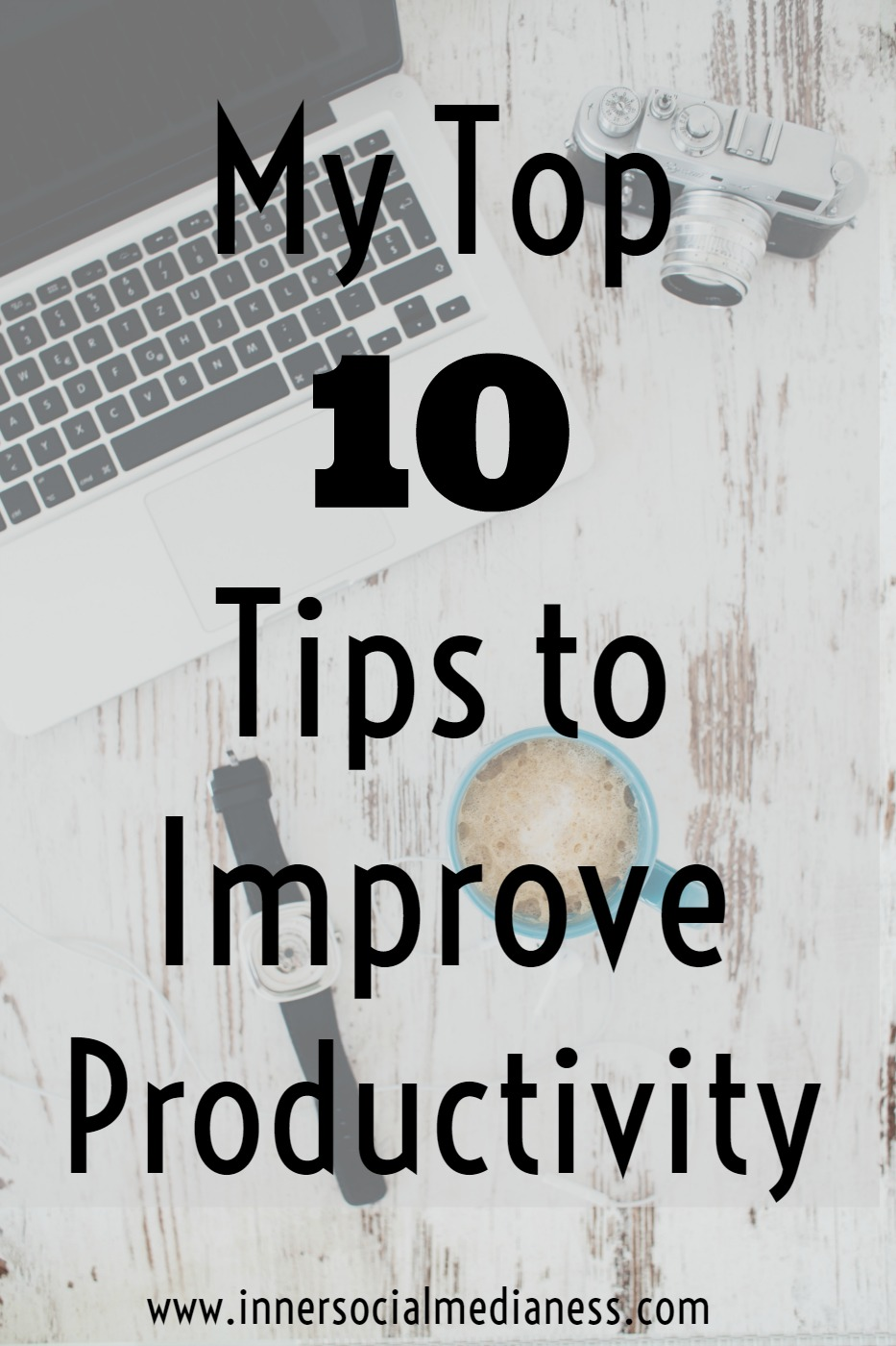 My Top Ten Tips to Improve Productivity -  all of my productivity tips for business owners and bloggers in just one place where you can easily find it. AND most of these have FREE worksheets to help you get more done in less time.