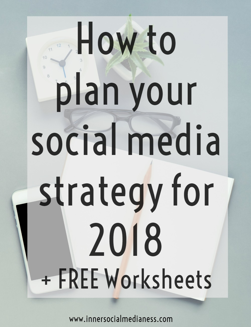 Trying to figure out how to review what happened with your social media marketing in 2017 and to create your social media plan for 2018? Download these FREE worksheets to help you work through your social media planning process. Get an easy to follow process to help you learn what really worked with your social media marketing this year and get the actionable steps to figure out what you can do to be more successful in 2018: