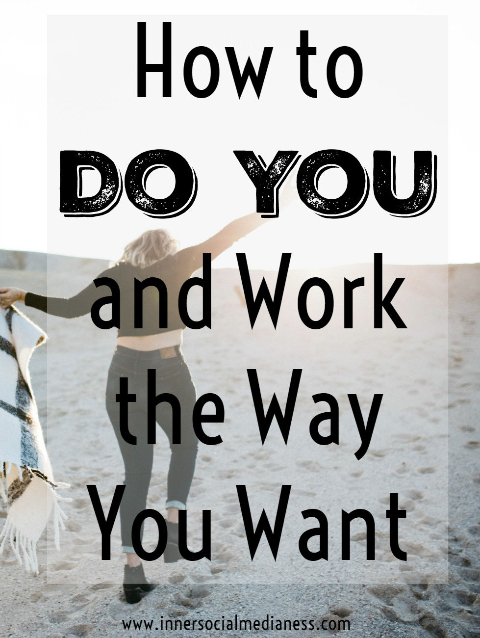 How to Do You and Work the Way You Want - The idea behind You Doing You is based on the premise of you no longer have to follow some 10 step-processed programs to the absolute letter. It's more about learning a specific process AND working through it to find a way to make it yours work based on your life and the way that you like to work. Let me show how you can learn how to Do You.