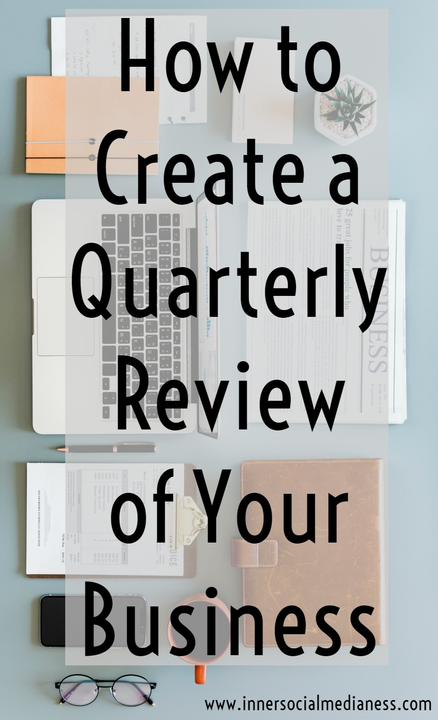 How to Create a Quarterly Review of Your Business - Reviewing your social sites is more than just writing out the number of followers you gained { or worse, lost! } every month. Download your FREE Social Media Quarter Review Guide filled with questions and worksheets to help you learn what's working with your social media strategy to grow your business or blog.