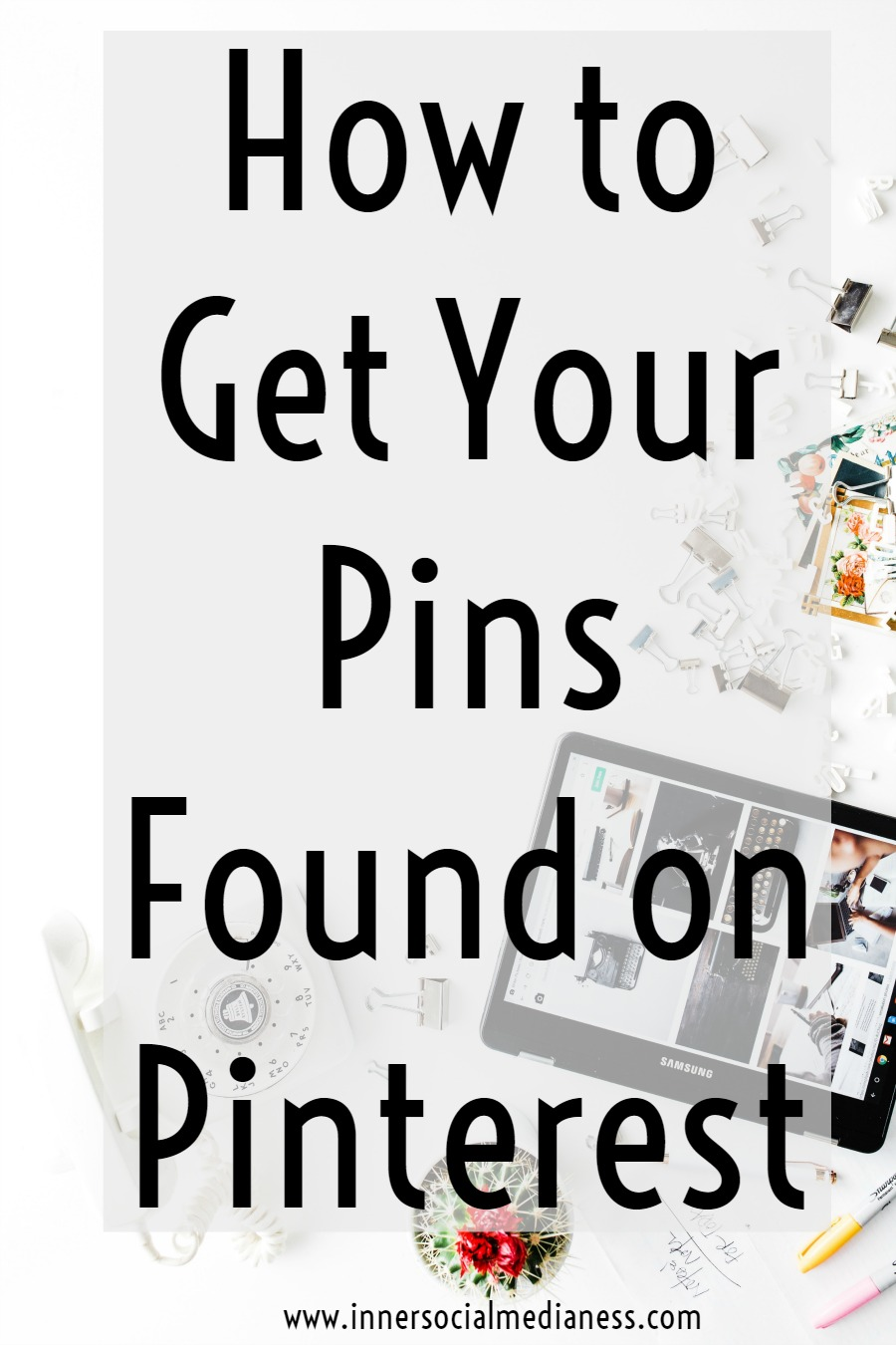 How to Get Your Pins Found on Pinterest - do you know that there is really is a process to get more people to find your pins, click on them and go to your website? Try these easy action steps to get more repins and to get your pins found on Pinterest.